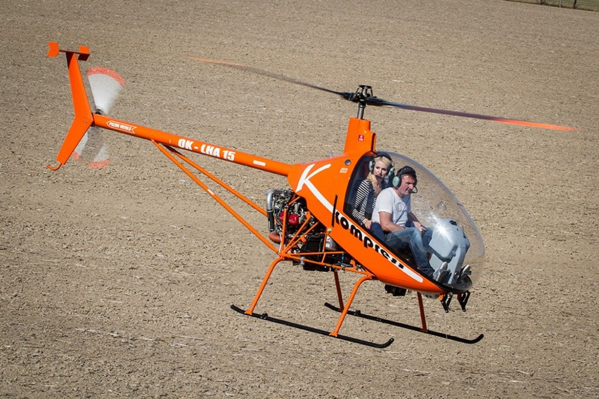 Ultralight Helicopter Ch 7 Kompress Mamba Air S R O